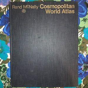 Vintage '72 World Atlas